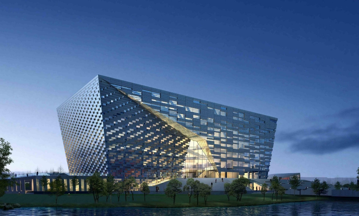 河beigong业大学图书馆